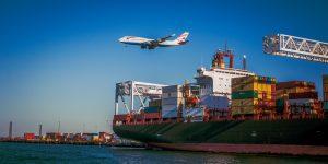 Importar da China via avião ou cargueiro